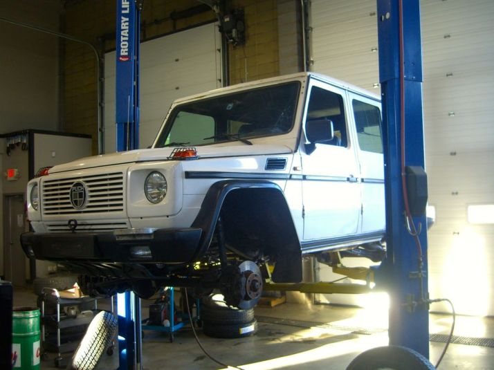 Mercedes G Wagon 2